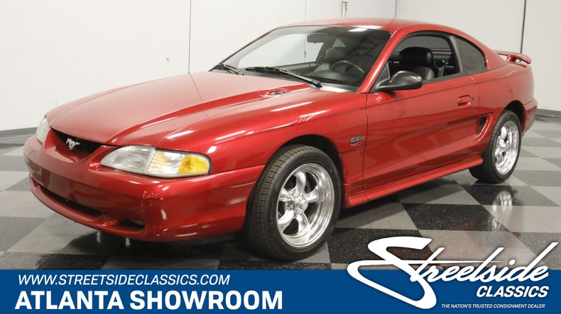 used 1996 Ford Mustang car, priced at $14,995