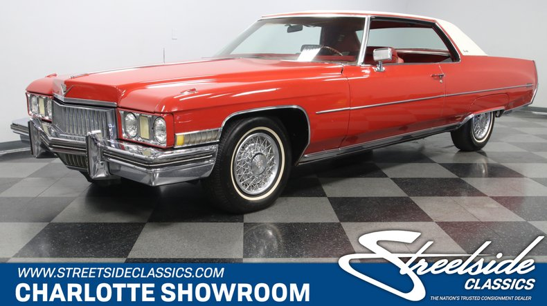 used 1973 Cadillac Coupe DeVille car, priced at $14,995