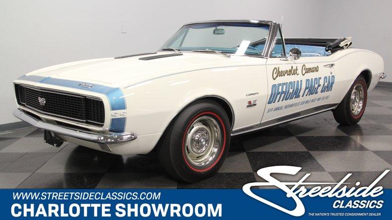 used 1967 Chevrolet Camaro car, priced at $87,995