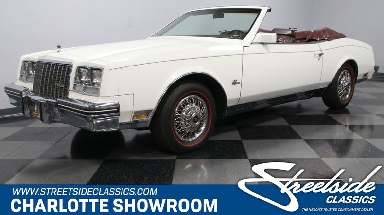 used 1983 Buick Riviera car, priced at $14,995