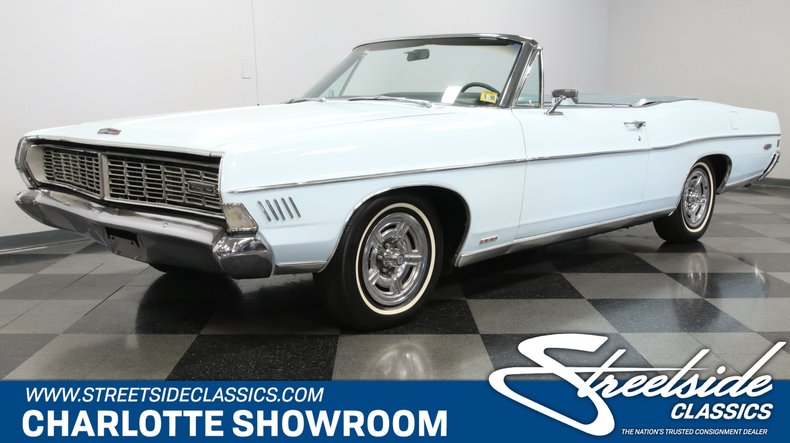 used 1968 Ford Galaxie car, priced at $17,995