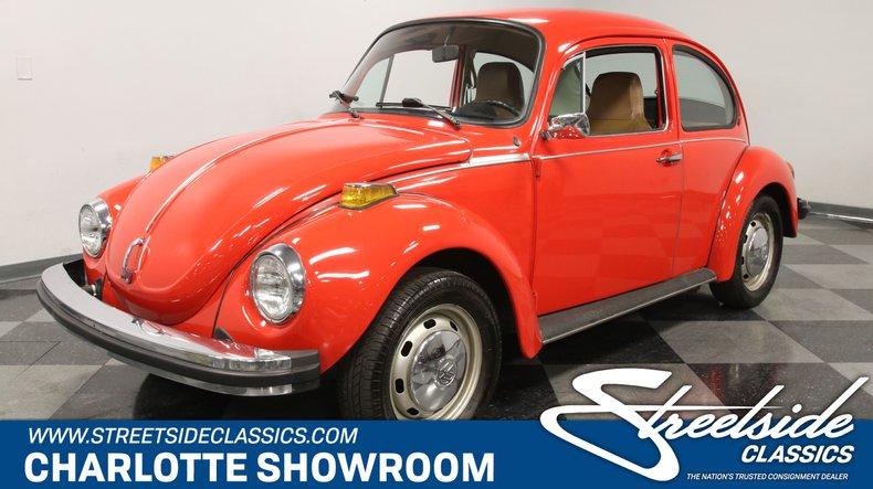 used 1974 Volkswagen Super Beetle car, priced at $15,995