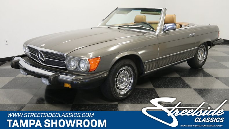 used 1983 Mercedes-Benz 380SL car, priced at $9,995