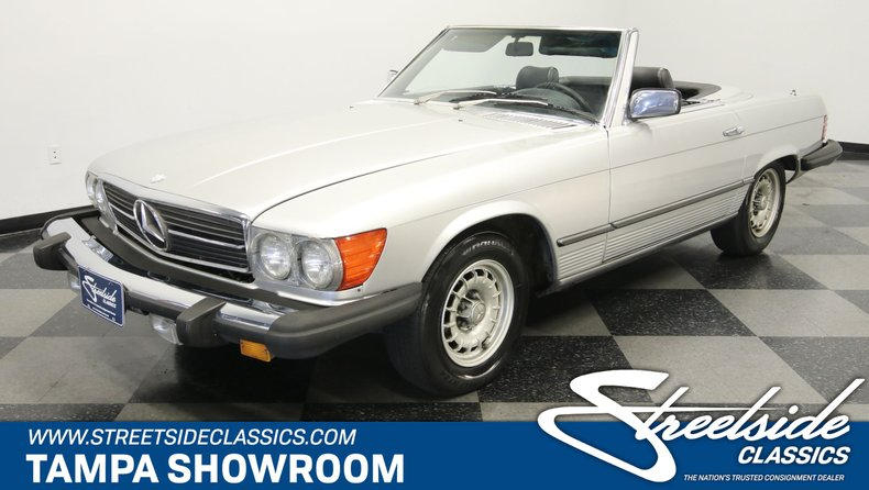 used 1980 Mercedes-Benz 450SL car, priced at $11,995