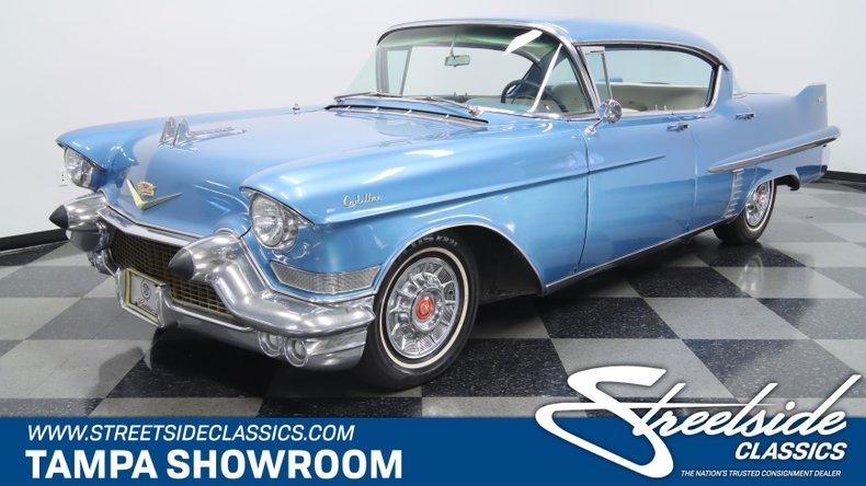 used 1957 Cadillac Series 62 car, priced at $23,995