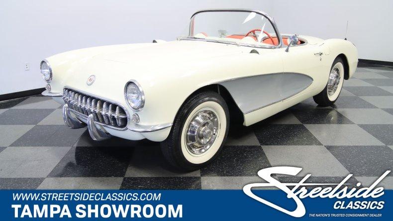 used 1956 Chevrolet Corvette car, priced at $77,995