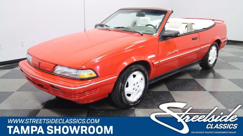 used 1993 Pontiac Sunbird car, priced at $14,995
