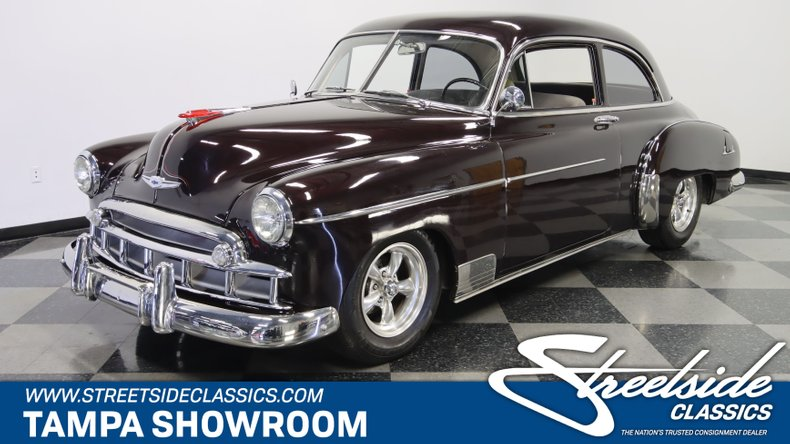 used 1949 Chevrolet Styleline Deluxe car, priced at $27,995
