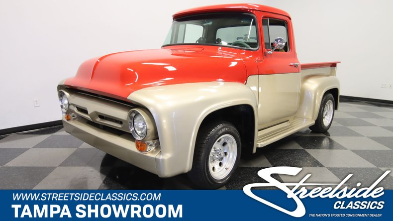 used 1956 Ford F-100 car, priced at $39,995