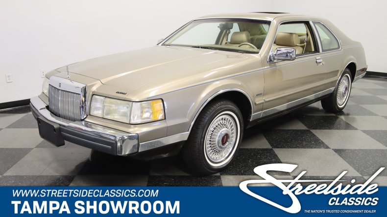 used 1986 Lincoln Mark VII Bill Blas Edition car, priced at $21,995
