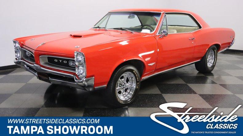 used 1966 Pontiac GTO car, priced at $44,995