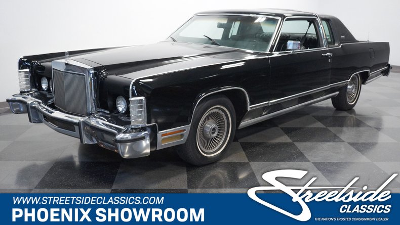 used 1978 Lincoln Continental car, priced at $16,995