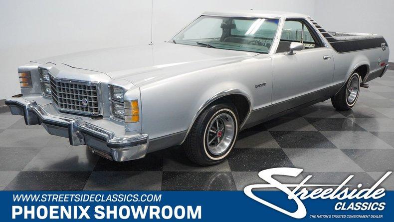 used 1978 Ford Ranchero car, priced at $11,995