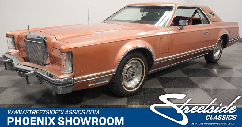 used 1978 Lincoln Continental car, priced at $19,995