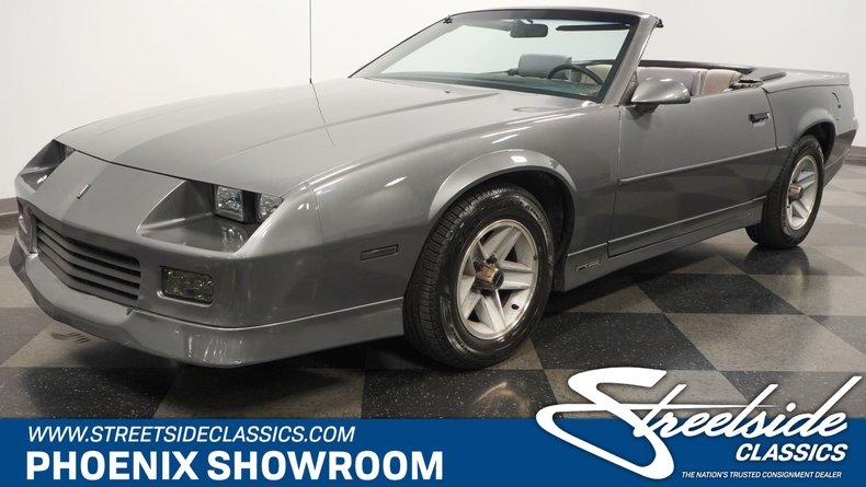 used 1989 Chevrolet Camaro car, priced at $13,995