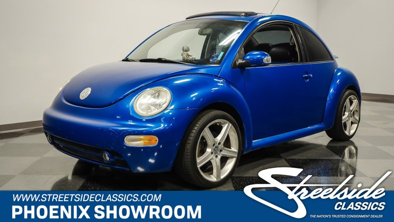 used 2003 Volkswagen New Beetle car, priced at $9,995