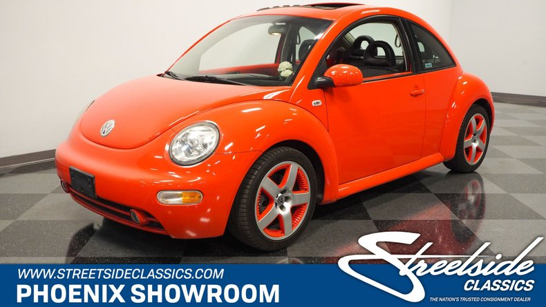 used 2002 Volkswagen New Beetle car, priced at $11,995