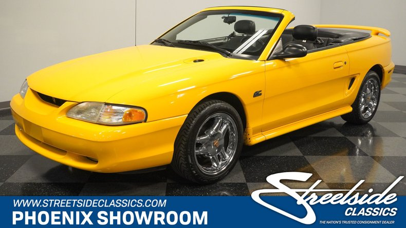 used 1995 Ford Mustang car, priced at $14,995