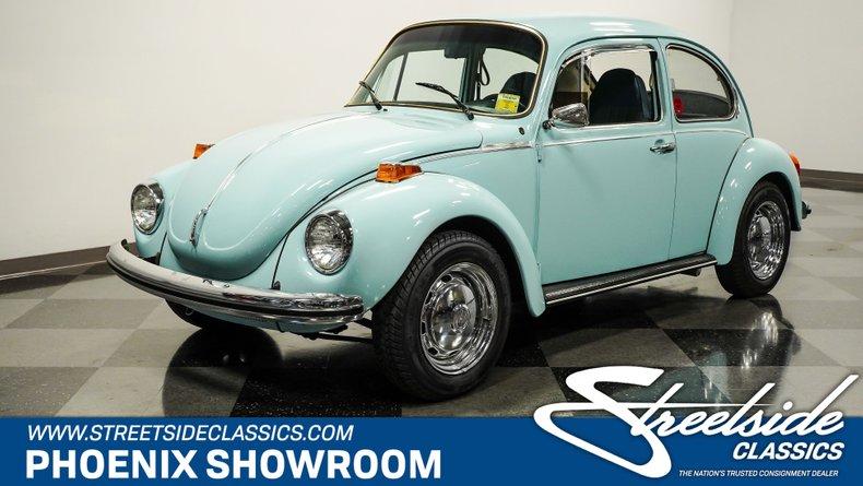 used 1973 Volkswagen Super Beetle car, priced at $14,995