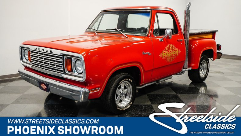 used 1978 Dodge Lil Red Express car, priced at $39,995